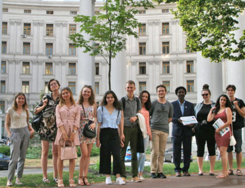 UCU Students Involved in Model UN