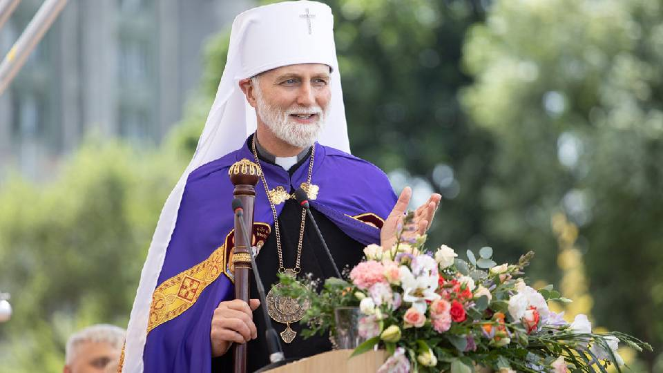 President of the Ukrainian Catholic University Metropolitan Archbishop Borys Gudziak will speak at Georgetown University.
