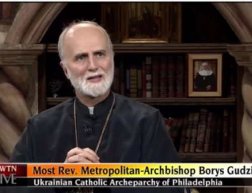 Watch Recording of Archbishop Borys on EWTN