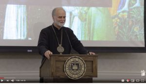 """Friendship in Good Times and in Bad"" by Archbishop Borys Gudziak at Notre Dame University"