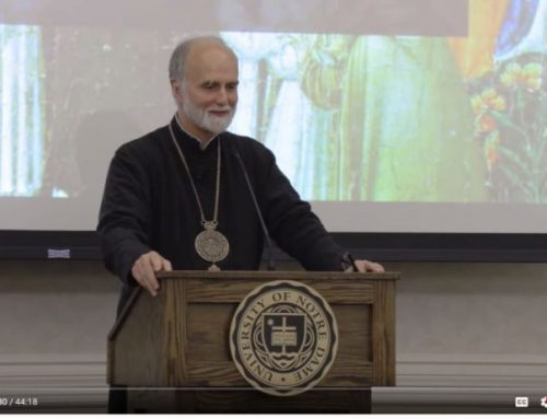 Watch Archbishop Borys Speak at Notre Dame on November 7