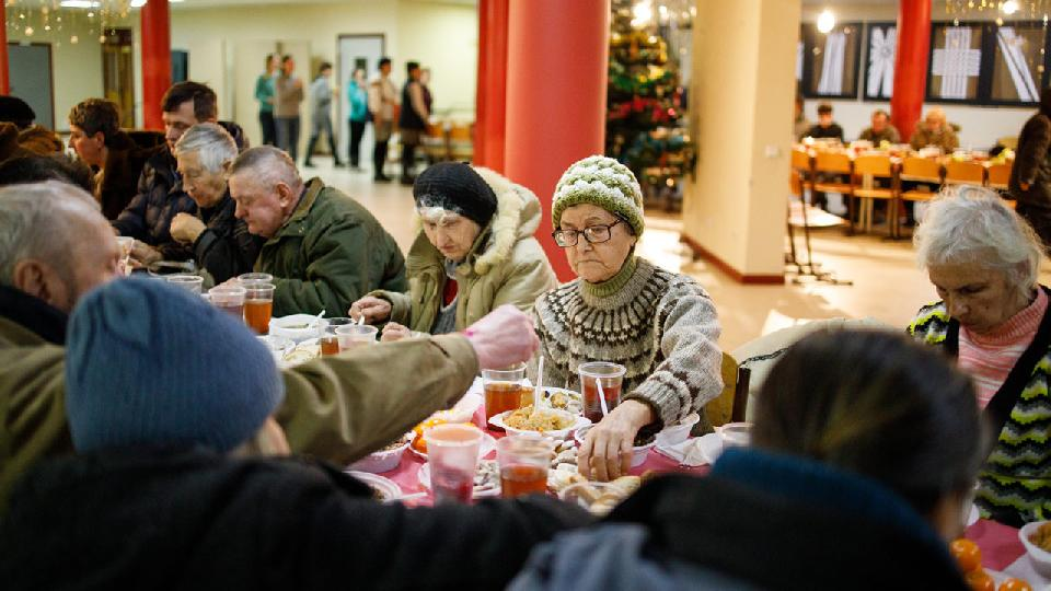 Ukrainian Catholic University, Christmas Eve Dinner for the poor